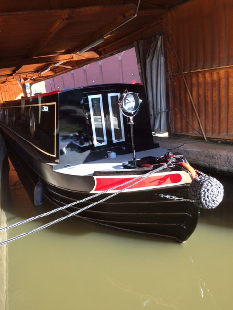 58ft Narrowboat Barge Style